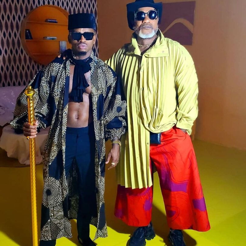 DOWNLOAD MP3 Diamond Ft Koffi Olomide - Papa Mobimba Remix